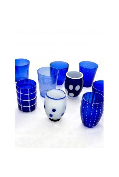 Blue Melting Pot Glasses Box