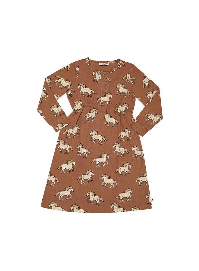 Wild Horse - 2 button dress