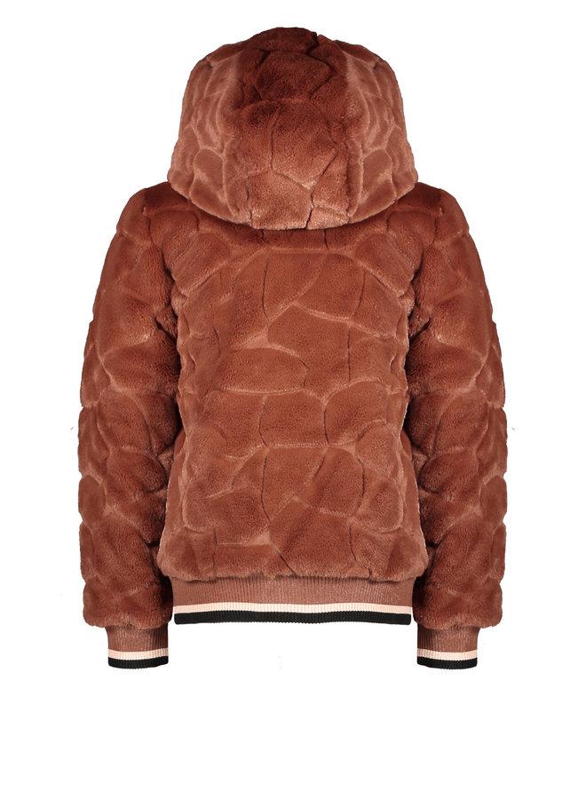 Bombai reversible hooded bomber jacket - Puppy