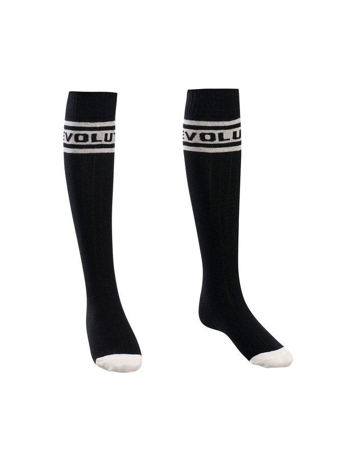 10Sixteen knee socks - black