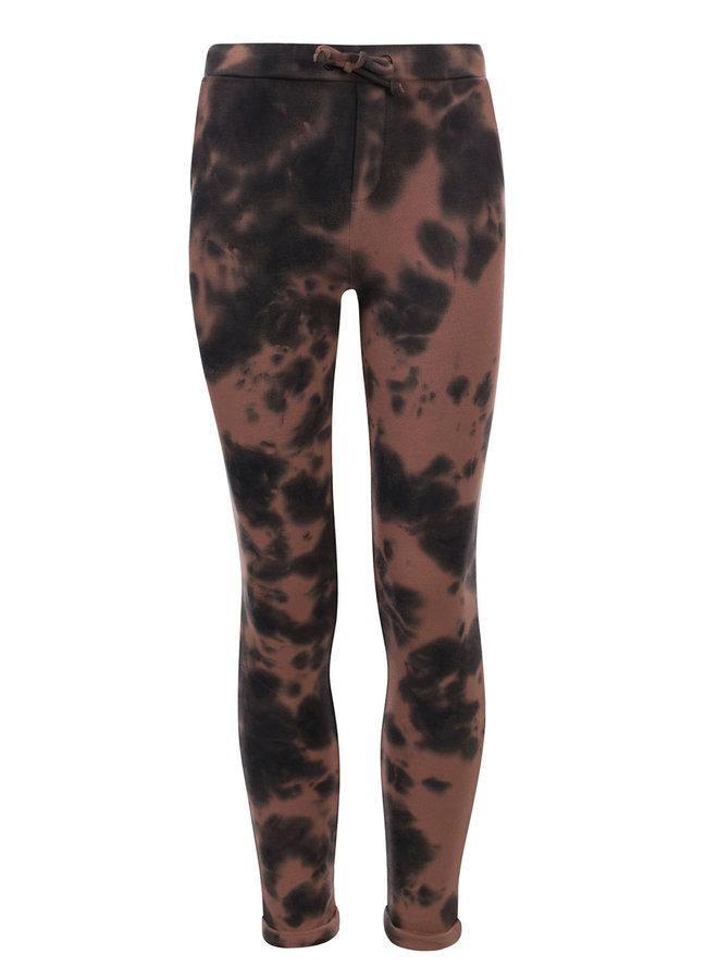 10Sixteen Tie-dye Pants - Medium brown