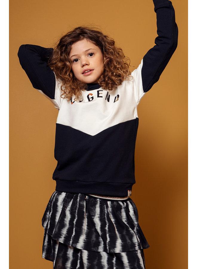 10Sixteen oversized Sweater - Creamy