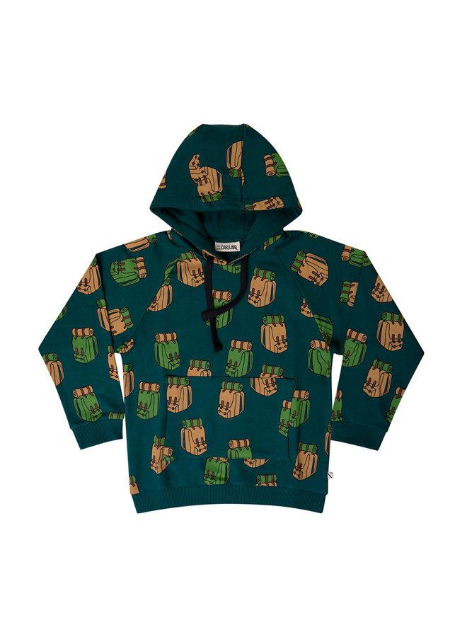 Backpack - hoodie sweater