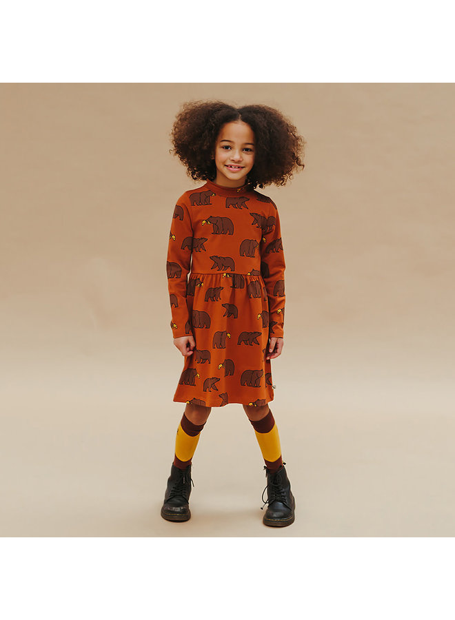 Grizzly - skater collar dress
