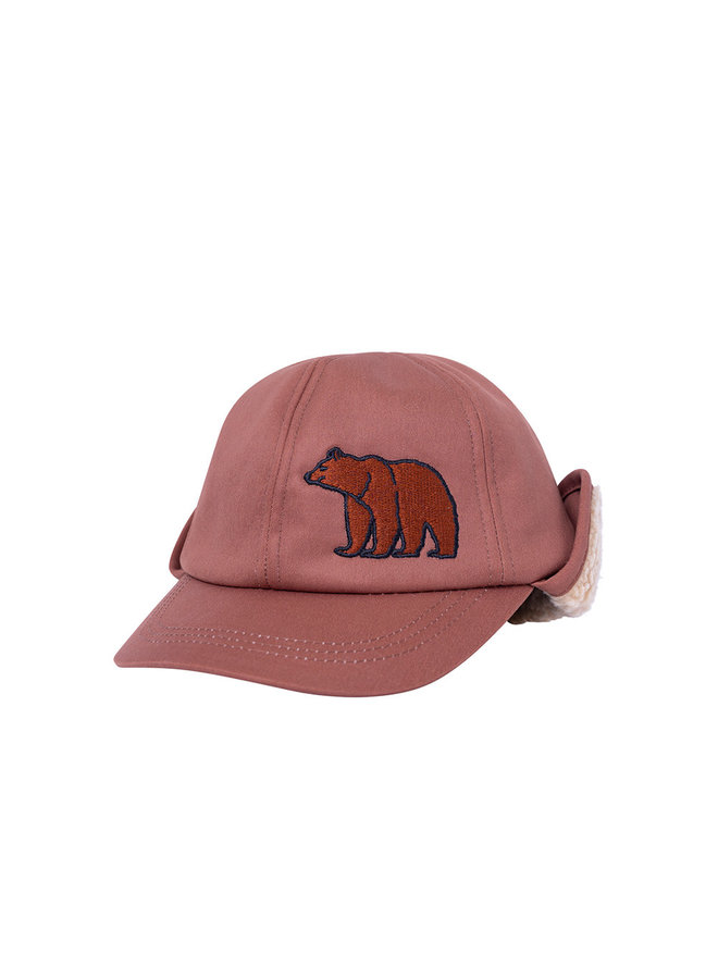Grizzly - cap wt embroidery & teddy lining