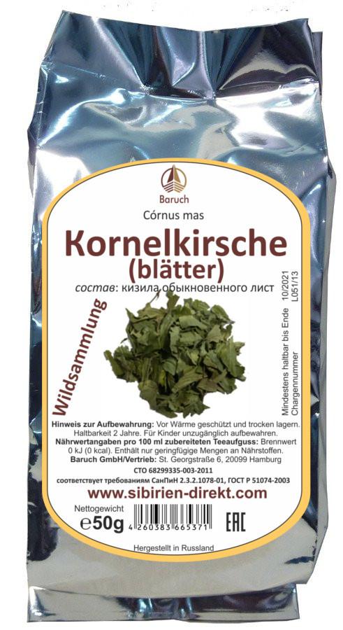 Kornelkirsche (Blätter)