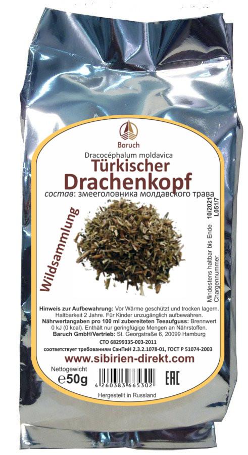 Türkische Drachenkopf