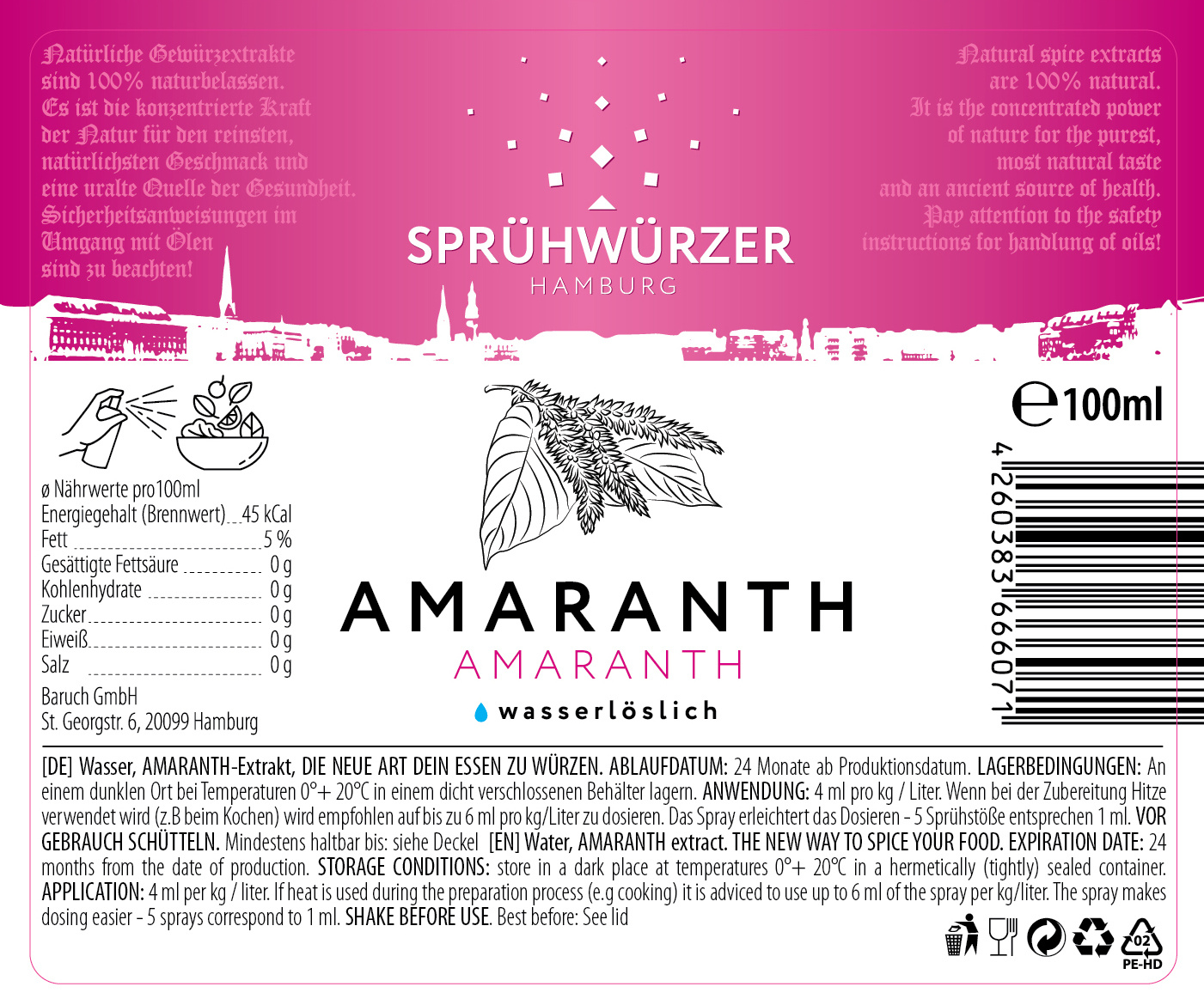 Amaranth Extrakt 100ml