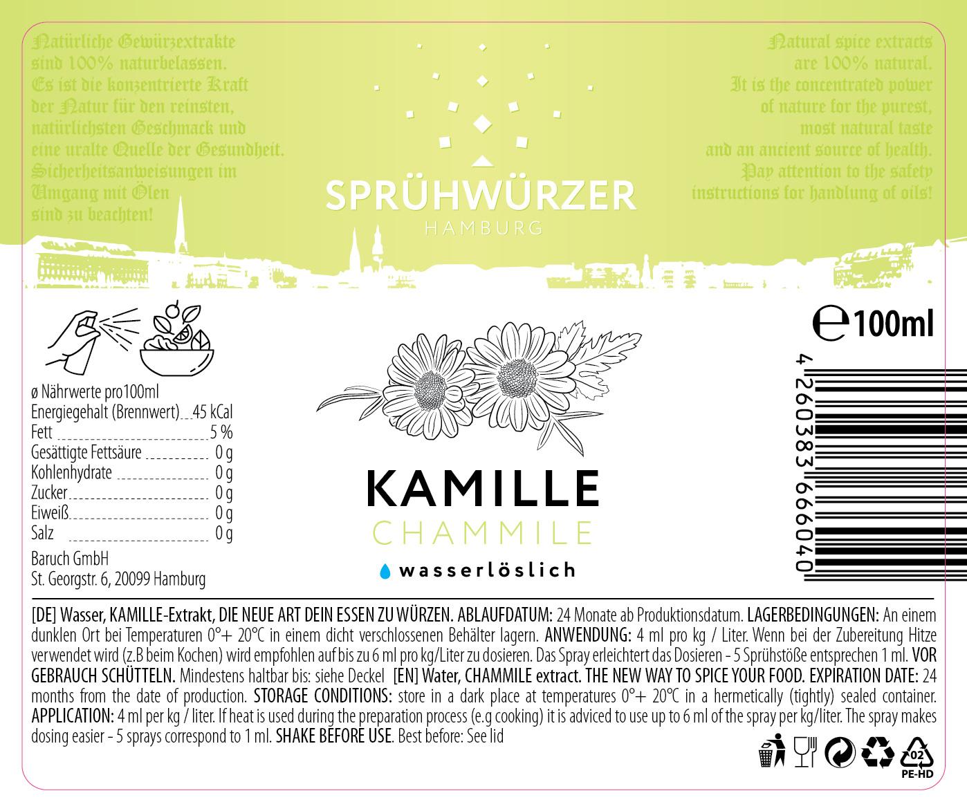 Kamille-Extrakt 100ml
