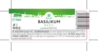 Basilikum-Extrakt 10ml