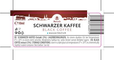 Schwarzer Kaffee-Extrakt 10ml