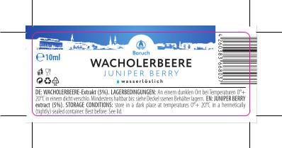 Wacholderbeere-Extrakt 10ml
