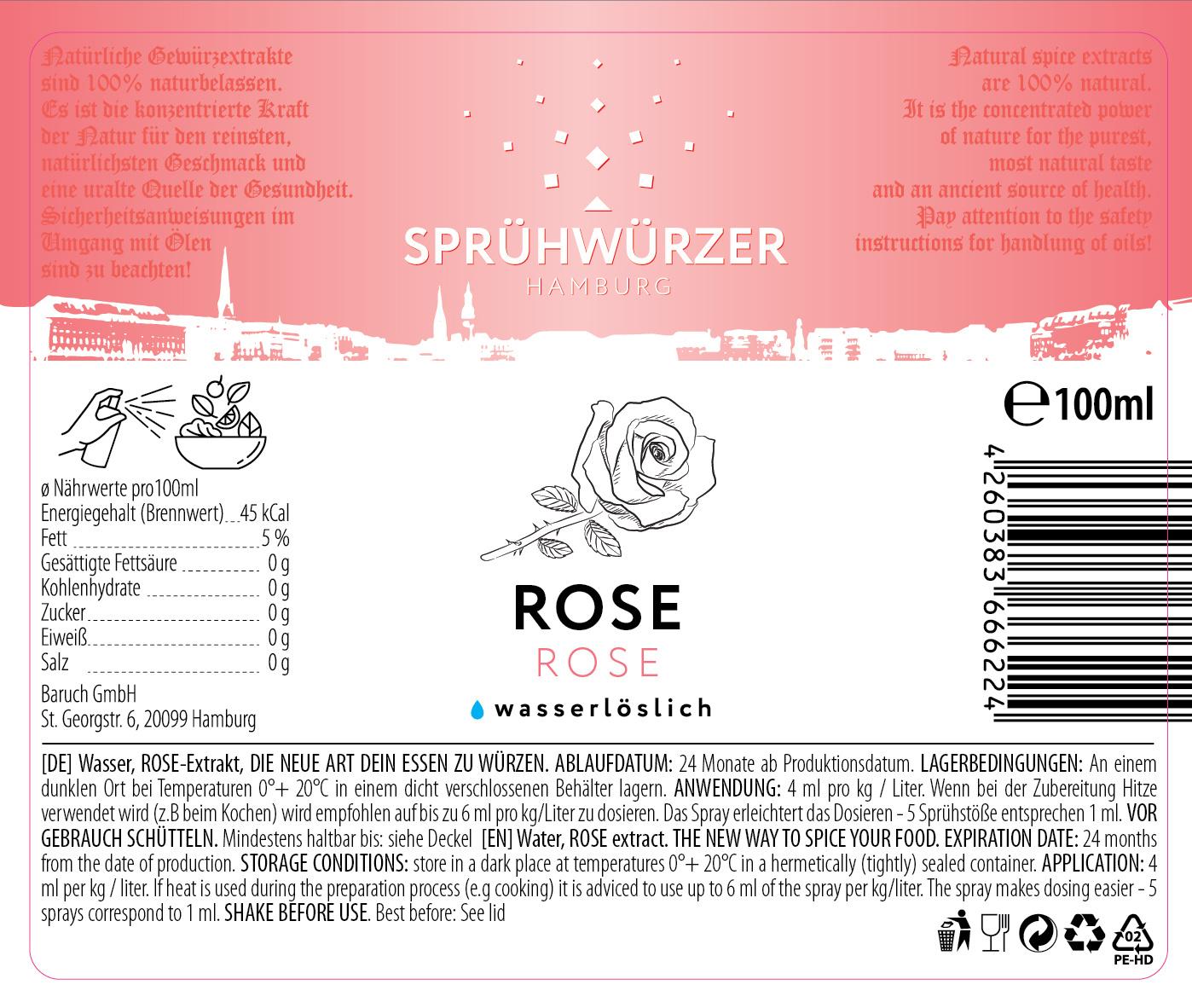 Rose-Extrakt 100ml