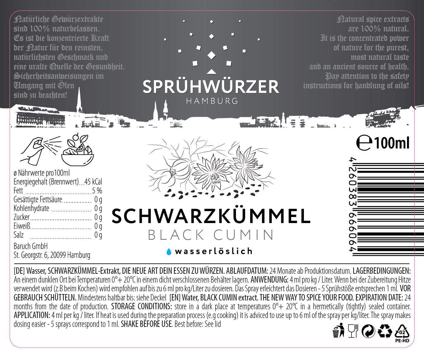 Schwarzkümmel-Extrakt 100ml