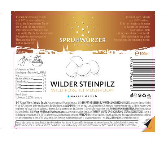 Wilder Steinpilz-Extrakt 100ml