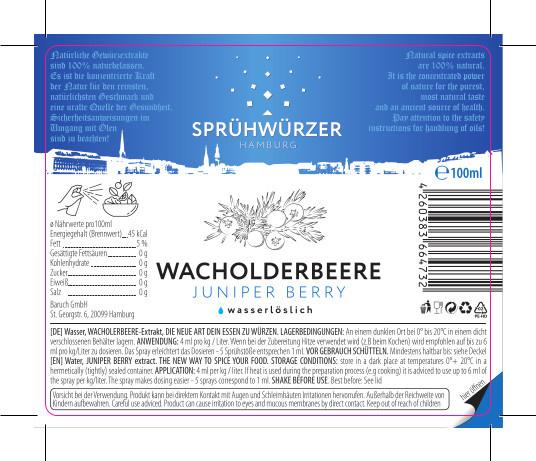 Wacholderbeere-Extrakt 100ml