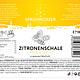 Zitronenschale-Extrakt 100ml