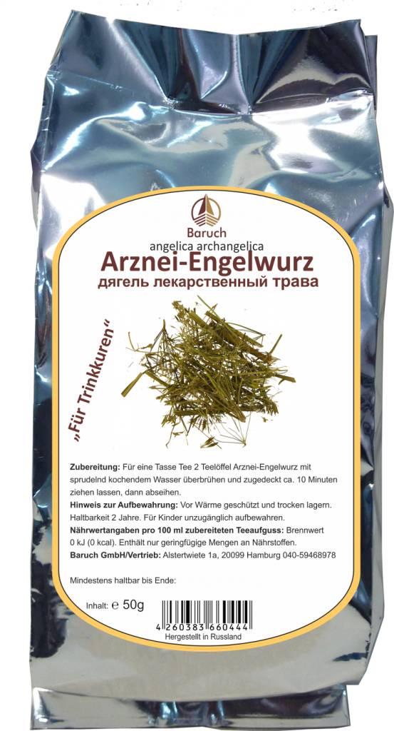 Arznei-Engelwurz, Kräuter