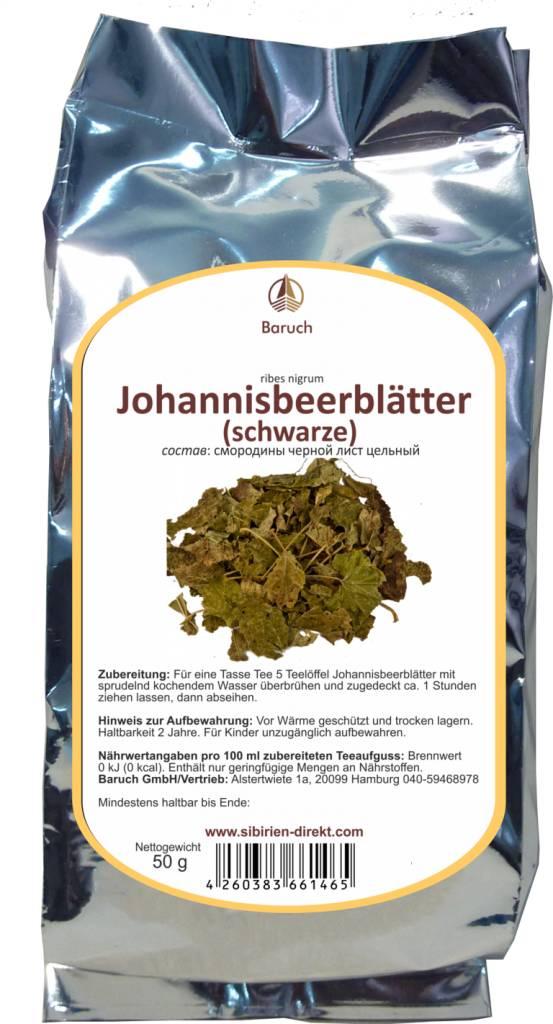 Schwarze Johannisbeere (Blatt)