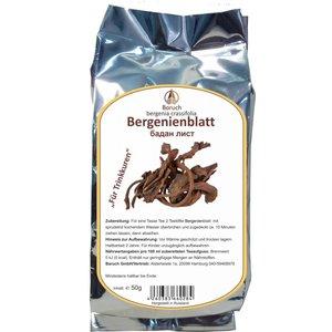 Bergenienblatt