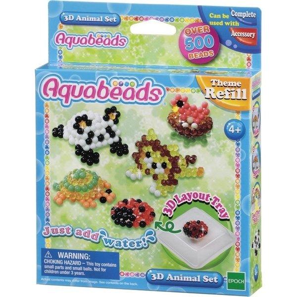 Aquabeads Aquabeads 3D Dierenset