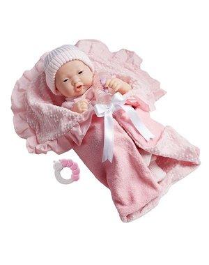 Berenguer Berenguer Aziatisch babypop meisje met accessoires 39cm