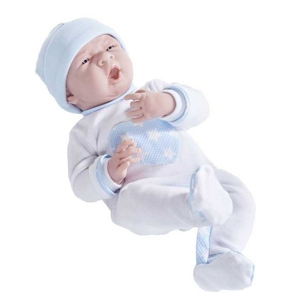 Berenguer Berenguer gapende Babypop jongen 38cm