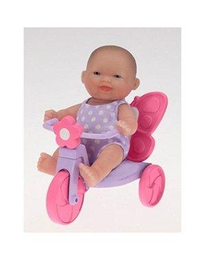 Berenguer Berenguer mini Babypop op Driewieler 13cm