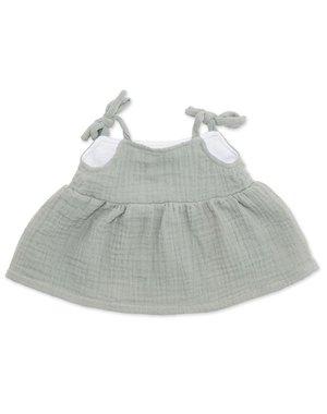 ByASTRUP Strapless jurk mint voor Knuffelpop