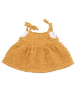 ByASTRUP Strapless jurk curry voor Knuffelpop