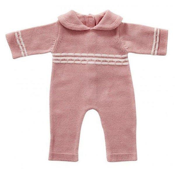 ByASTRUP Babypakje roze gebreid 50cm