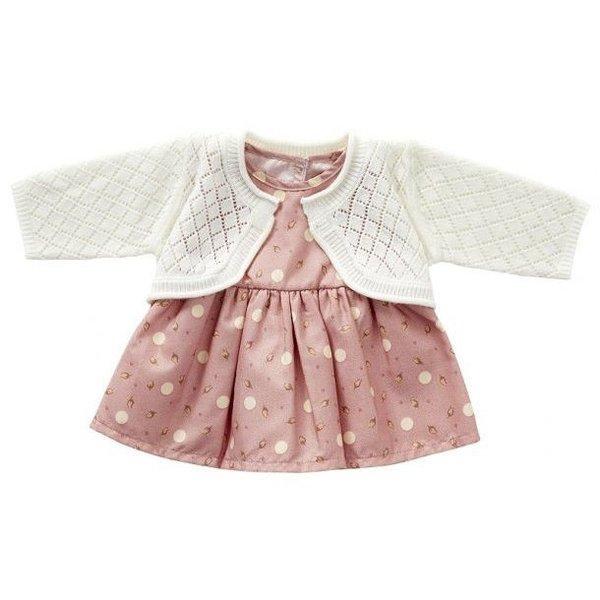 ByASTRUP Babypakje roze gebreid 35cm