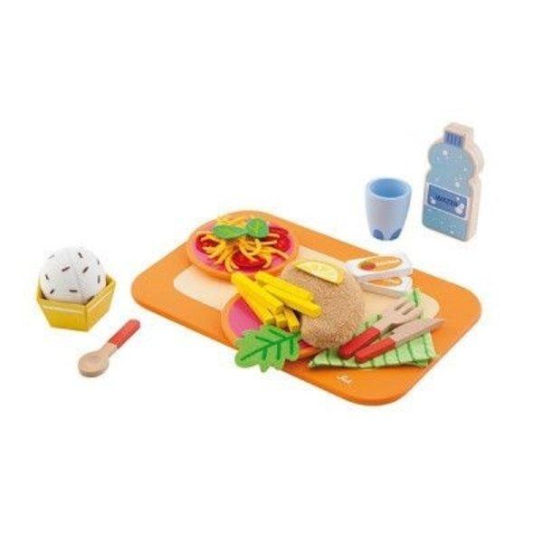 Sevi Dienblad met Lunch