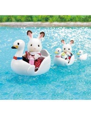 Sylvanian Families Set Zwanenbootjes