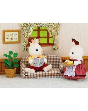 Sylvanian Families Set Vader Chocoladekonijn (sofa)