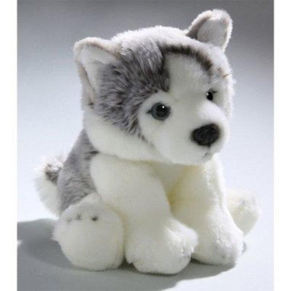 BIColini Zittende Husky pup 22cm