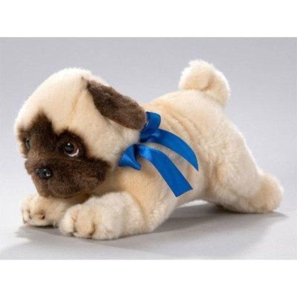 BIColini Liggende Mops Pup 26cm