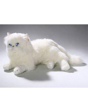 BIColini Liggende witte Perzische Kat 30 cm