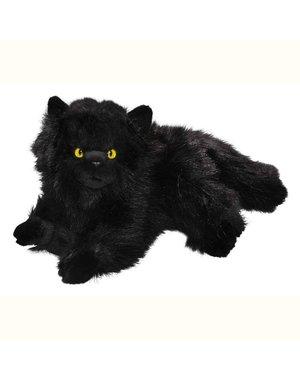 BIColini Liggende zwarte Perzische kat 30cm