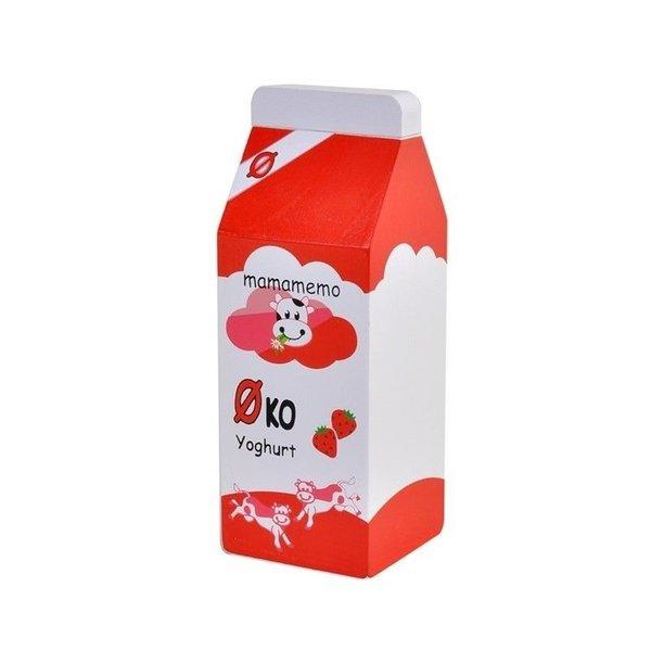 Mamamemo Biologische Aardbeien Yoghurt