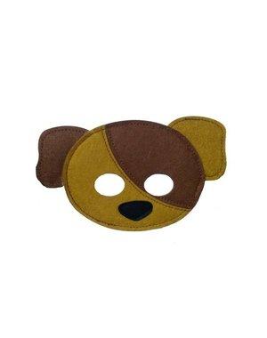 Mamamemo Mini Vilten Masker Hond
