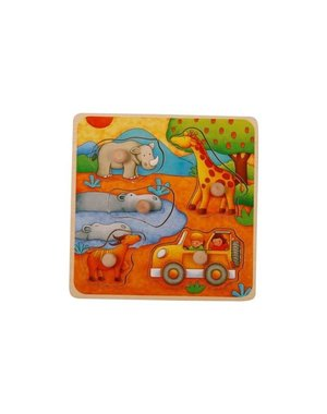 Mamamemo Knop Puzzel Safari