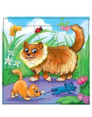 Mamamemo Puzzel Katten