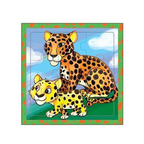 Mamamemo Puzzel Luipaarden