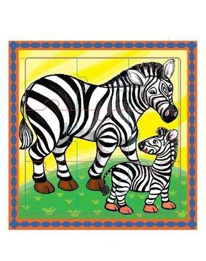 Mamamemo Puzzel Zebra's
