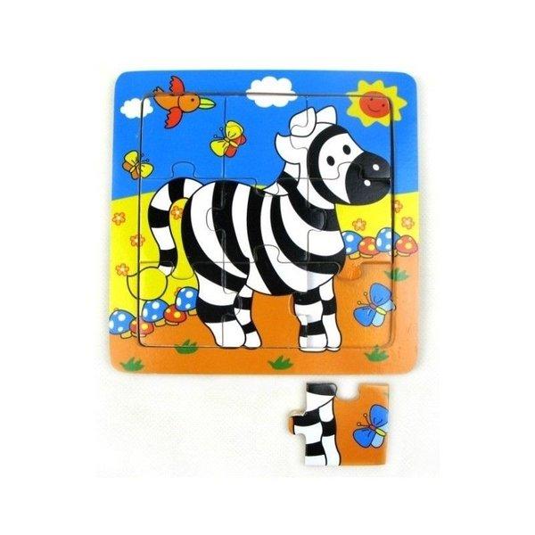 Mamamemo Puzzel Zebra