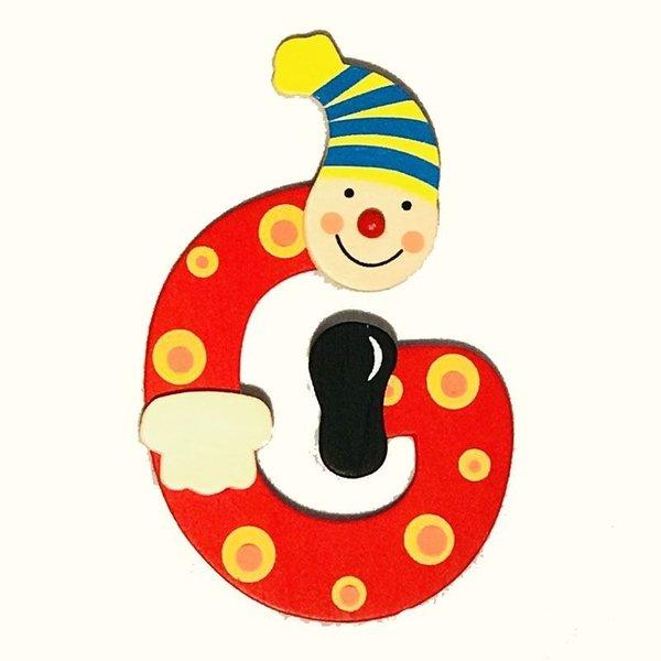 Mamamemo Mamamemo Clown letter G (6 ST)