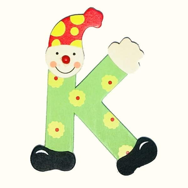 Mamamemo Mamamemo Clown letter K (6 ST)