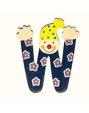 Mamamemo Mamamemo Clown letter W (6 ST)