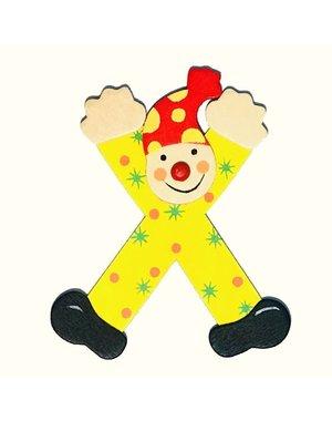 Mamamemo Mamamemo Clown letter X (6 ST)